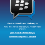 Download BBM for Android on your Samsung Galaxy device now! – its working