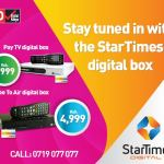 Get your Startimes Set Top Box at 14% less before Digital Switch