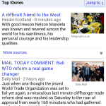 Google News mobile website getting its biggest redesign on Android and iOS devices