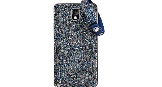 Swarovski Samsung Galaxy Note 3 cover and bracelet - Mercedes Benz Fashion Week 2014