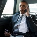 Barrack Obama Blackberry