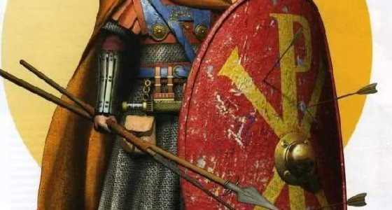 Byzantine infantry officer 6th century