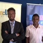 Windows Developer Trainee Graduates - Brian Kanyiri (l) and Clinton Ingalia (r)