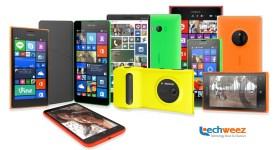 Lumia Devices. Lumia 1520, Lumia 930, Lumia 830, Lumia 1320, Lumia 730, Lumia 635, Lumia 535. Lumia 532, Lumia 435, Lumia 1020