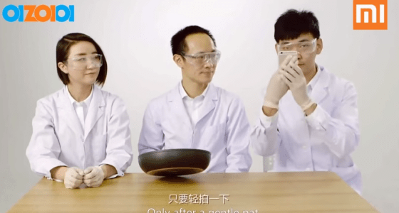 Xiaomi poking fun apple