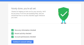 google security check 3