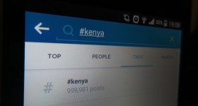 Top posts on Instagram this week with the #kenya tag