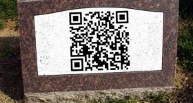 QR Codes on Graves