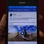 facebook 360 video
