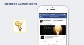 facebook custom icons