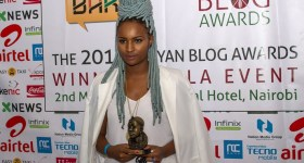 Silvia Njoki Blog of the Year winner 2015