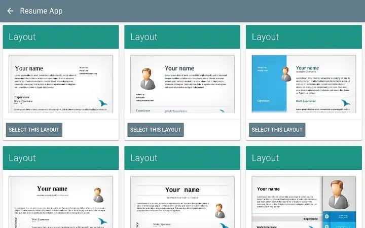 resume free app