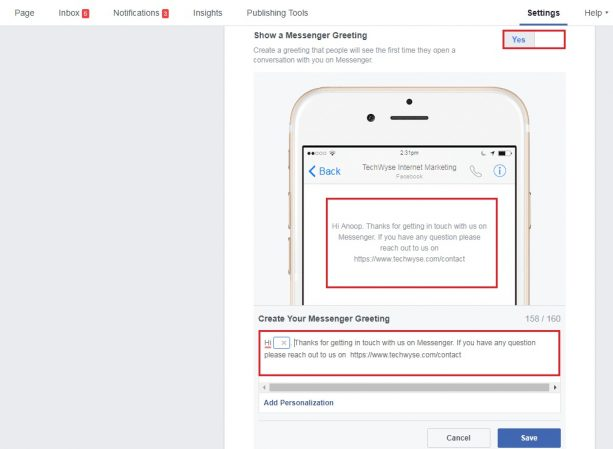 How to Setup Response Assistant For Your Facebook Page