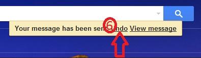 Undo sent email