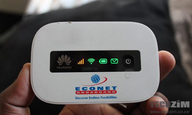 Econet Huawei E5332 device
