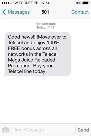 telecel-spam