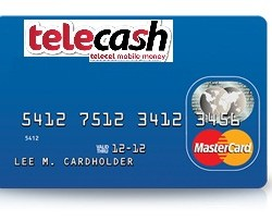 Here's how to use MasterCard with telecash in Zimbabwe
