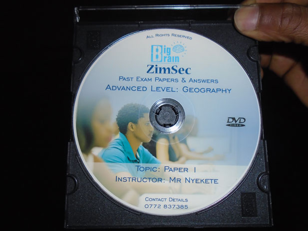 Big Brain Zimbabwe DVD