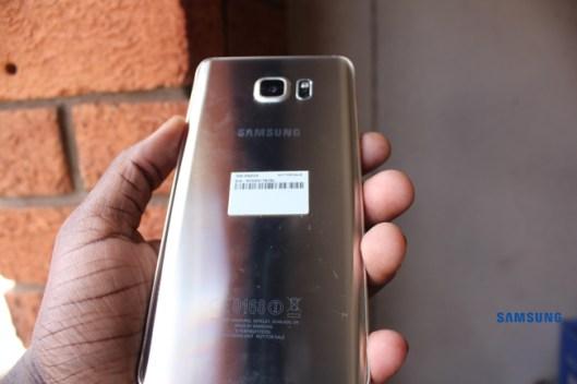 Samsung Galaxy Note 5 Rear