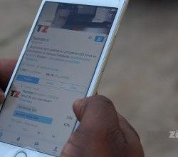 Techzim Twitter, Techzim, Twitter on iOS, social networking, social media, Tweeting