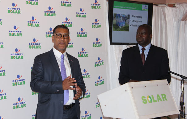 Luc Tanoh  -Econet Solar chief executive