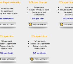 ZOLspot New Prices