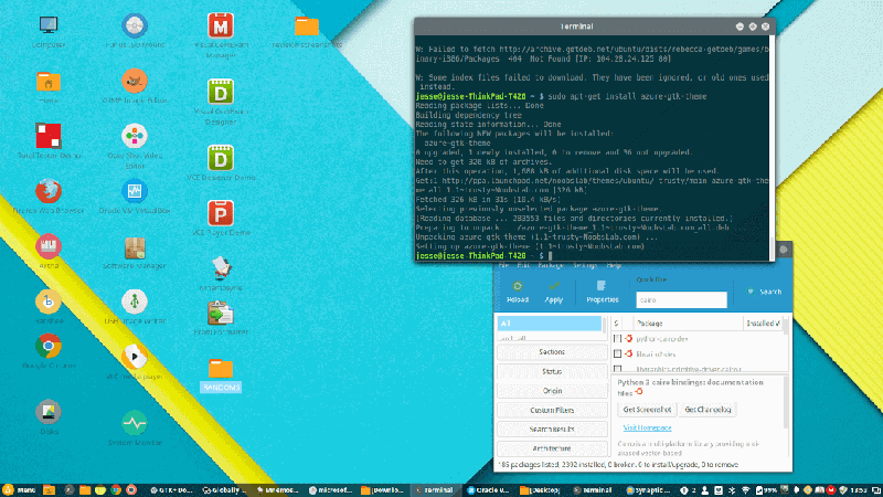Desktop Calendar Linux Mint Mint 183 The Best Linux Desktop Takes Big Steps Forward Linux Mint 173 Rosa Cinnamon Installation Review And