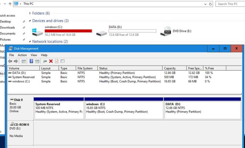 Large Of Windows 10 Size On Ssd