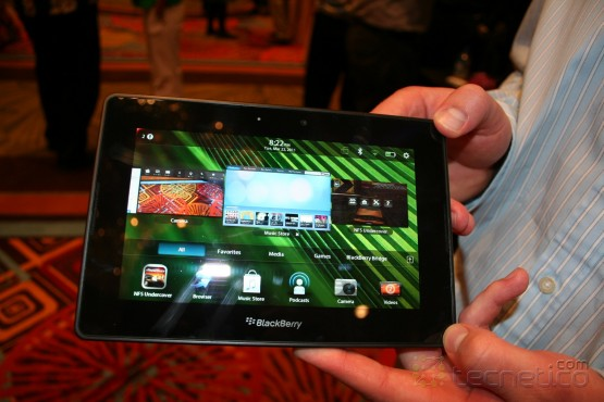 Encuentro cercano con la Blackberry Playbook 