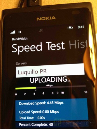 Nokia Lumia Speedtest 2