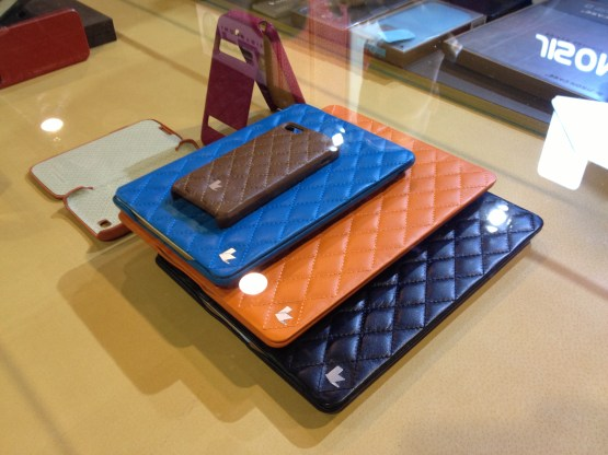 Los estuches &quot;Quilted Flip&quot; estn disponibles en 7 colores (foto: James Lynn/Tecnetico.com)