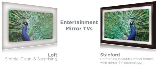Electric Mirror TV