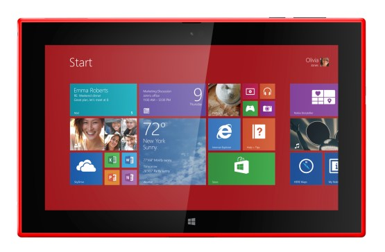 Nokia Lumia 2520 con Windows RT 8.1