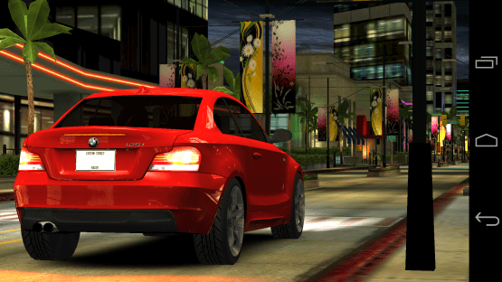 Juego CSR Racing en Android 4.4 Kit Kat