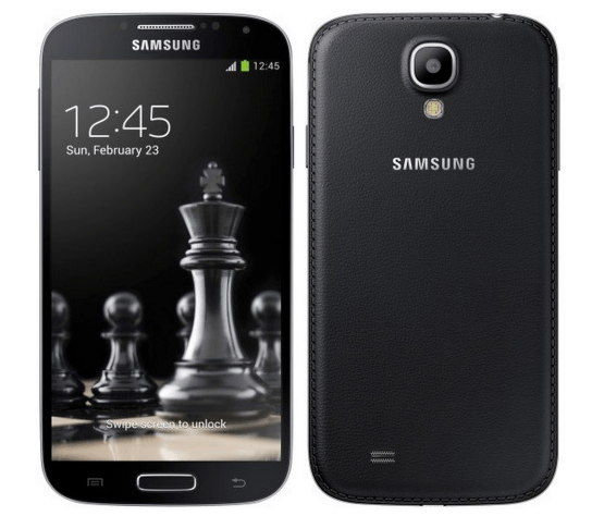 "Samsung Galaxy S4 ""Black Edition"""