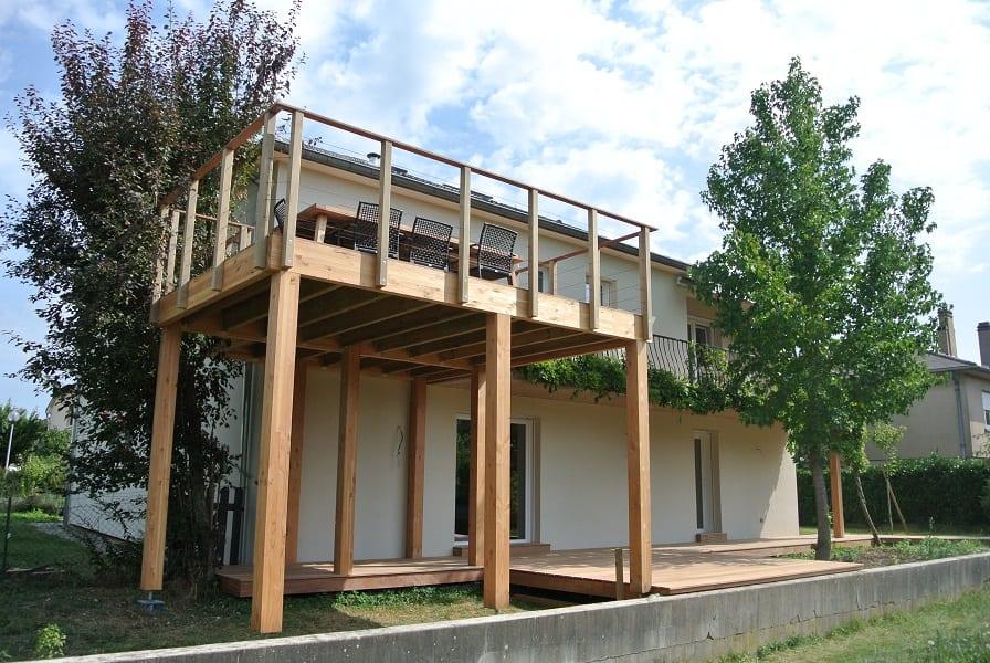 terrasse suspendue rare prix terrasse suspendue beton terrasse - Terrasse En Bois Suspendue Prix