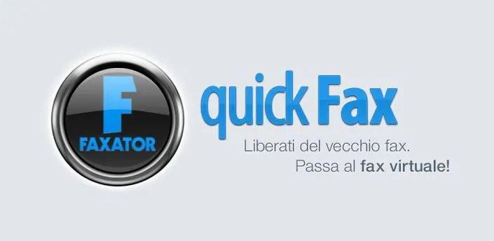 quickfax invia fax utilizzando il tuo smartphone android