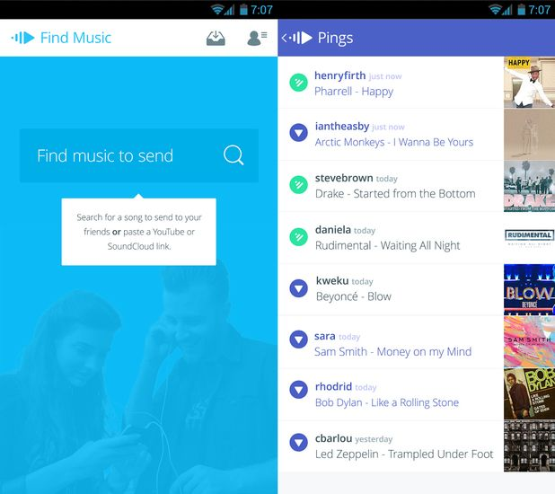 tech-pingtune-music-messenger