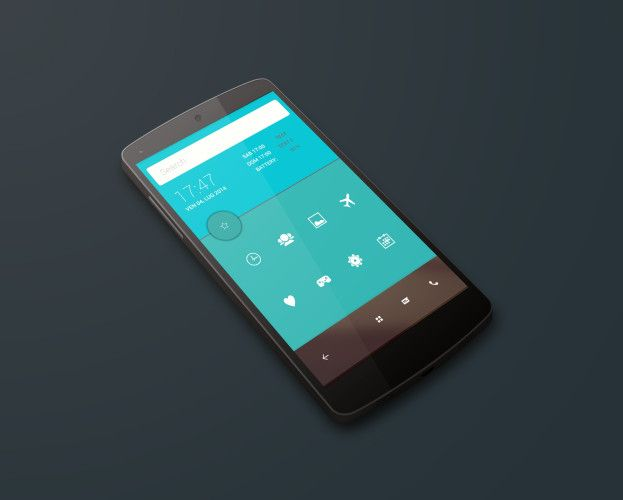 homescreen android l