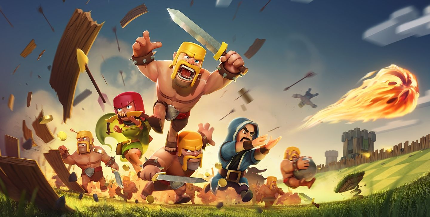 clash of clans giochi di strategia 2015