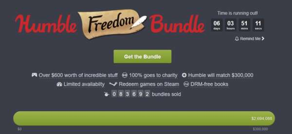 humble bundle freedom