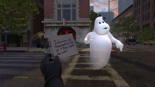 Ghostbusters VR: Now Hiring