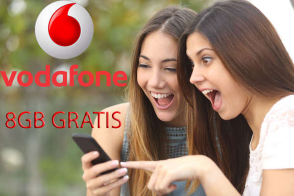 8 giga in regalo vodafone