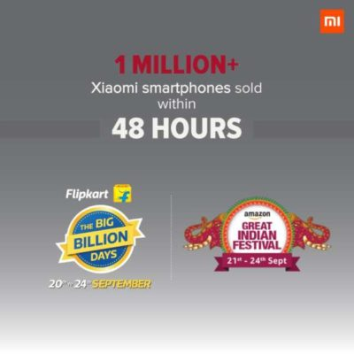 Xiaomi vende in sole 48h 1 milione di smartphone in India!