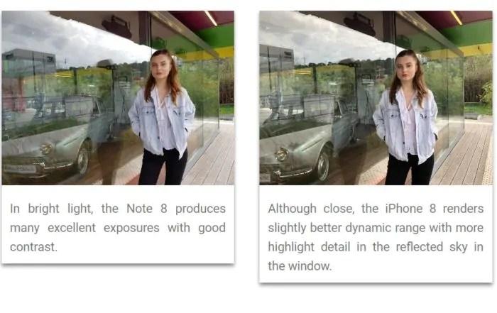IPhone 8 Plus e Galaxy Note 8 alla prova fotografica: pareggio!