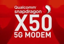 qualcomm snapdragon x50 modem
