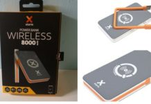 arriva XTORM Power Bank Wireless da 8.000 mah
