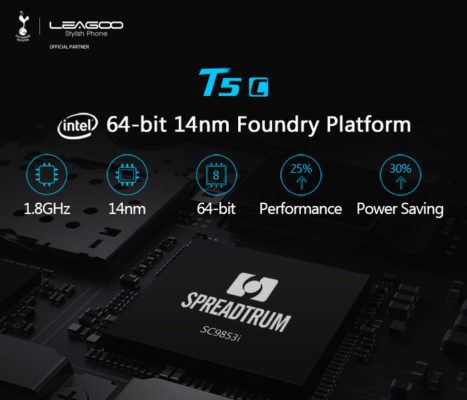 Spreadtrum SC9853i: il SoC made in Intel debutta a bordo di Leagoo T5c