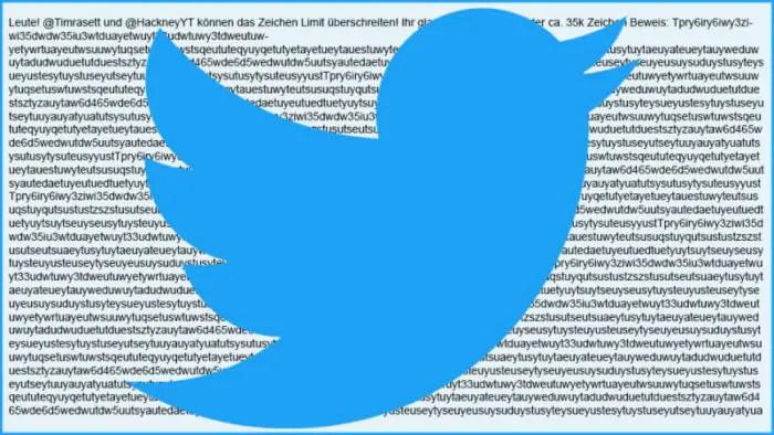 Twitter raddoppia il numero di caratteri da 140 a 280