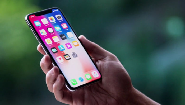 Primo caso di burn-in su iPhone x
